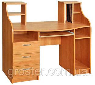 Красивый компьютерный стол Одиссей. Стол для ПК и ноутбука.