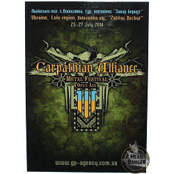 Магніт Carpathian Alliance (green)