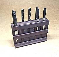 """Подставка для ножей """"Коросаль"""" венге"""