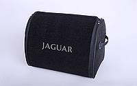 Автомобильный органайзер сумка в багажник Jaguar L 25 л черный