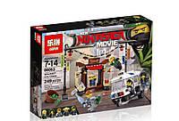 """Конструктор Lepin аналог LEGO Ninjago 70607 """"Ограбление киоска в Ниндзяго- Сити"""" 249дет."""
