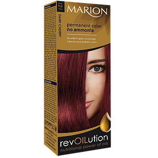 Фарба Marion Revolution 121 Темна вишня без аміаку 40 мл/40 мл (4118021)