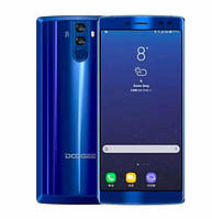 "Смартфон Doogee BL12000 4/32Gb Blue, 16+13/16Мп, 8 ядер, 2sim, экран 6"" IPS, 12000mAh, GPS, 4G, Android 7.0"