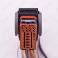 Разъем электрический 32-х контактный (40-21) б/у