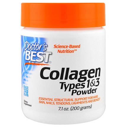 Best Collagen Types 1 & 3 Powder Doctor's s Best 200 g, фото 2