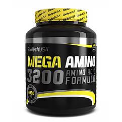 Аминокислоты Mega Amino 3200 (500 таб.) BioTech USA