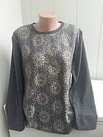 Стильная женская кофта большого размера