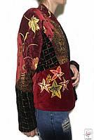 Пиджак Indigo Moon жакет р. S 42 жакет женский разноцветный бордо весенний