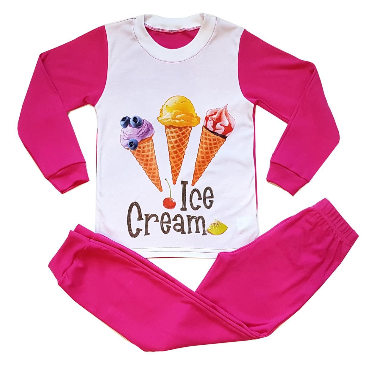 """Пижама подростковая для девочки """"Ice cream"""""""