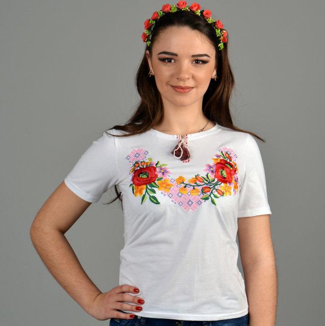 Лиана футболка с вышивкой