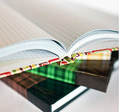 Книга канцелярская А4 , 192 листа клетка твердый переплет