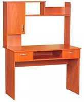 Письменный стол Прима с надстройкой для дома, кабинета и офиса. Стол для школьника