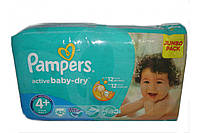 Pampers Active Baby-Dry Maxi Plus 4+ (9-16 кг) 62 шт.