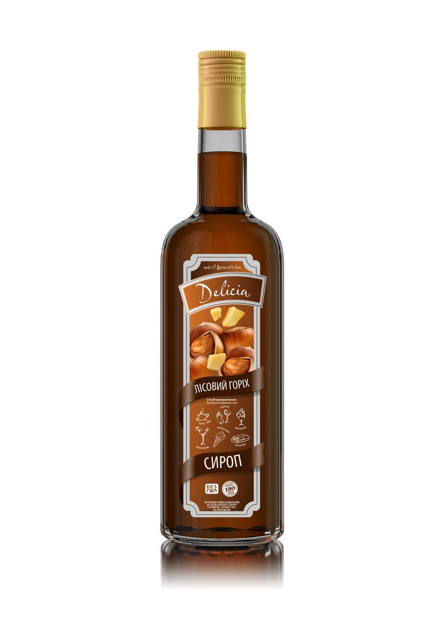 Сироп Лесной Орех Delicia 900 г