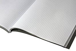 Книга канц 192л А4 клетка твер пер   ЗО-192