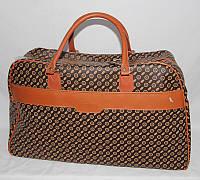 Сумка дорожная текстильная с принтом НОВИНКА, размеры 57 34 20 см Серии
