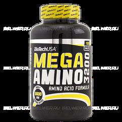 Аминокислоты Mega Amino 3200 (100 таб.) BioTech USA