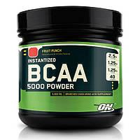 Optimum Nutrition, Бцаа Instantized BCAA 5000 Powder, 380 грамм