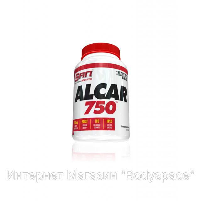 SAN Nutrition, Карнитин Alcar 750 (Acetyl L-Carnitine), 100 таблеток