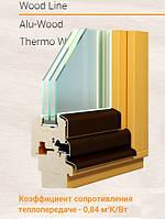 Окна, двери деревянные из трехслойного бруса