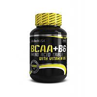 Biotech USA, Бцаа BCAA+B6, 100 таблеток
