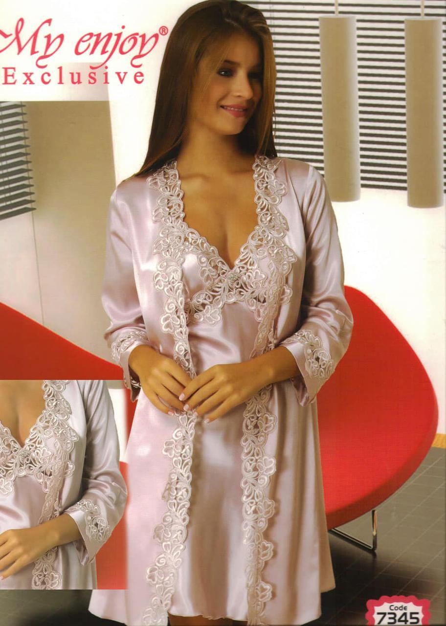 ce5d41fb3e62 Красивый женский халат с рубашкой, цена 1 135 грн., купить в ...