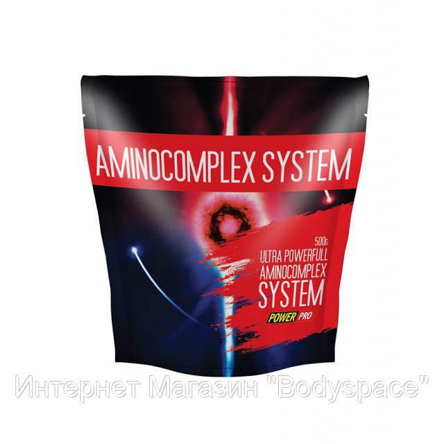 Power Pro, Амино Amino Complex System, 500 грамм