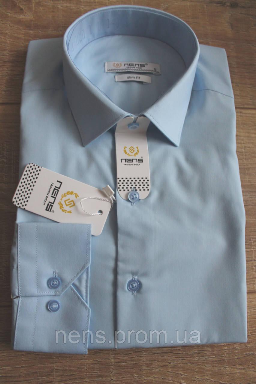 4e5b16a103c Мужская рубашка Nens Slim с длинным рукавом