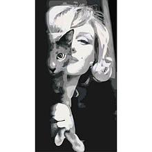 Картина по номерам Изящная Мерилин