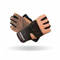 MadMax, Перчатки спортивные Professional MFG 269. Цвет черный/коричневый