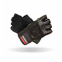MadMax, Перчатки спортивные Professional MFG 269. Цвет черный