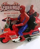 """Игрушка """"Spider-Man на мотоцикле"""""""