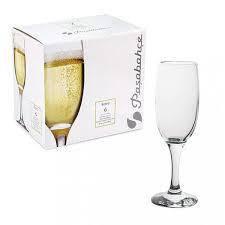 Набор бокалов для шампанского Pasabahce Бистро 190мл*6шт 44419, фото 2