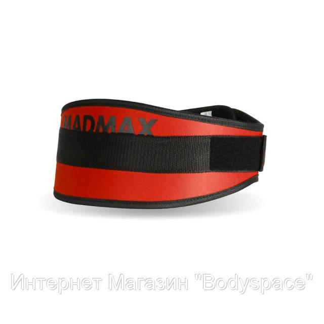MadMax, Пояс атлетический неопреновый Simply the Best MFB 421 красный