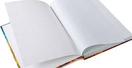 Книга канц 192л А4 лин.офсет ГрафоМан ламин.