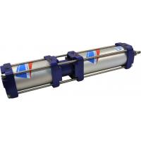 Тандем - цилиндры двухстороннего действия с независимыми штоками (позиционер) серии ПЦ71 Пневмоаппарат