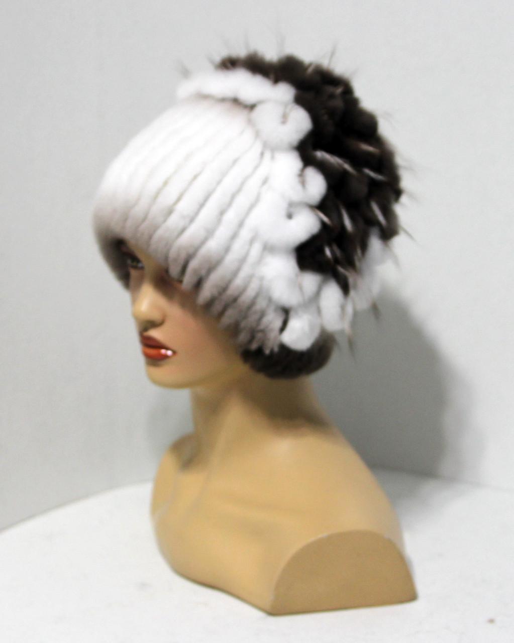 Меховая шапка из Rex Rabbit Водограй.(дк) - Меховые шапки 01ba4cfbb5440