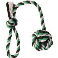 Игрушка для собак Trixie (Трикси3268) Мяч из каната на веревке 5,5см/30см