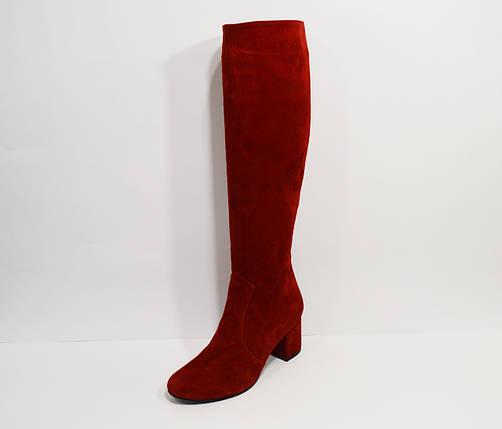 Красные демисезонные сапоги Nivelle 7024, фото 2