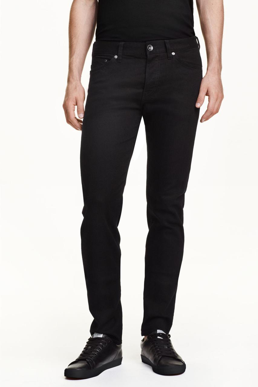 74ea9aed5a6 Джинси H M - Черные узкие джинсы (мужкие джинсы) - UNITEDSHOP в  Ивано-Франковской