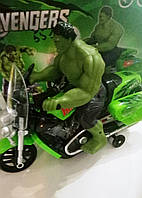 """Игрушка """"Hulk на мотоцикле"""""""