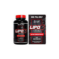 Nutrex Research, Жиросжигатель Lipo 6 Black Ultra Concentrate