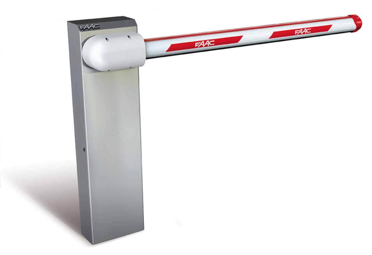 Автоматический шлагбаум FAAC 615 STD WINTER -40°C стрела S круглая 5м
