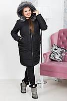 Зимняя куртка женская батал 38- 5063