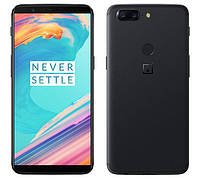 Смартфон Oneplus 5T 6/64gb Black Qualcomm Snapdragon 835 + GPU Adreno 540 3300 мАч