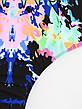 Купальник слитный яркий откровенный Купальник цветной сексуальный бразилиана молодёжный принт глаз -Размер S, фото 3