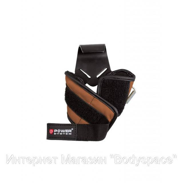 Power System, Крюки PS-3300 черный/коричневый