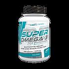 Полиненасыщенные жирные кислоты Super Omega-3 (120 капс.) Trec Nutrition, фото 2