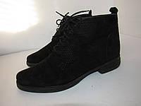 ELENA_Болгария, стильные ботинки замша 39р ст.25,5см H93