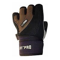 Power System, Перчатки FIT PRO Fitness S2 PRO FP04 черный/коричневый